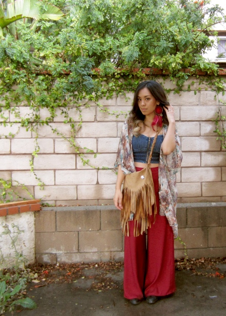 dress like a hippie and hang out with plants