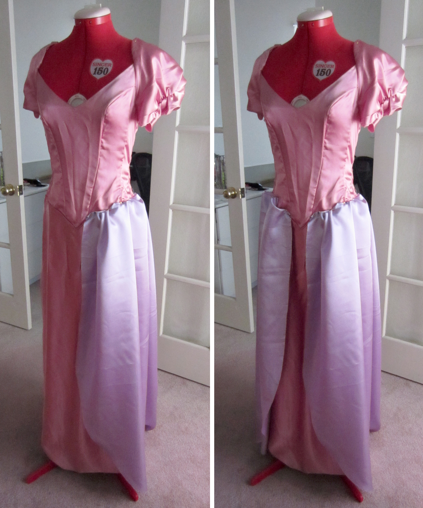 Then ... & Semi-Homemade Rapunzel Costume | Letu0027s Get Thrifty