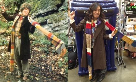 4th doctor diy scarf