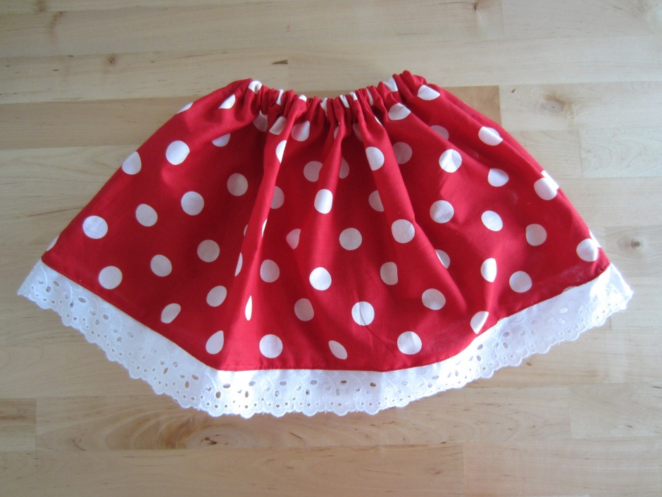 baby minnie mouse skirt