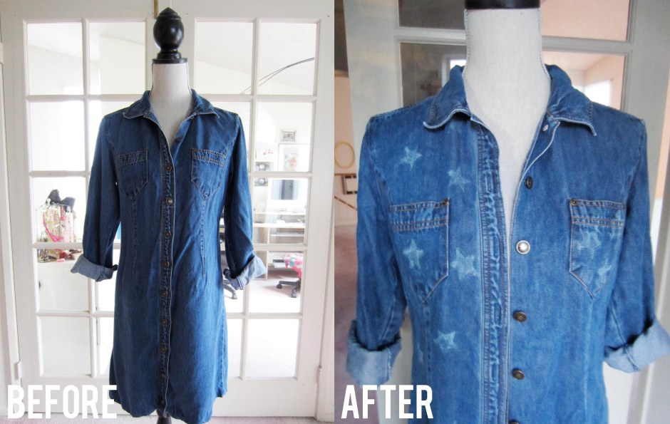 BEFORE AND AFTER DENIM SHIRT