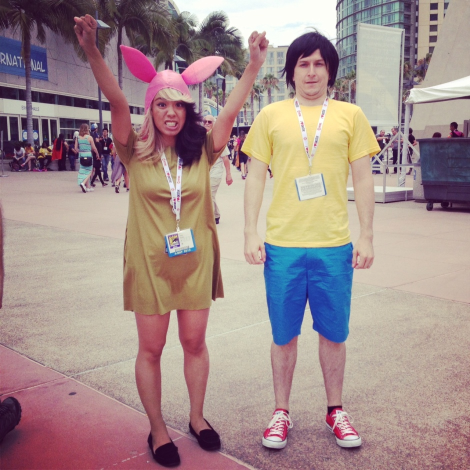 bobs burgers cosplay comic con 2013