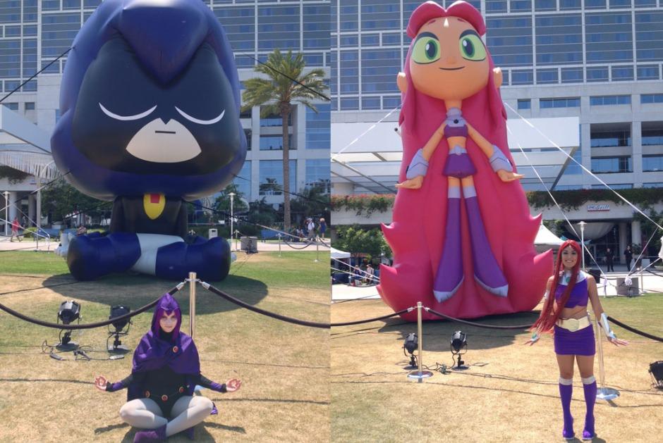 raven starfire cosplay