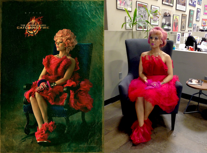 diy effie trinket costume lets get thrifty