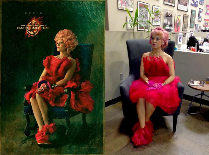 Diy Effie Trinket Costume Let S Get Thrifty