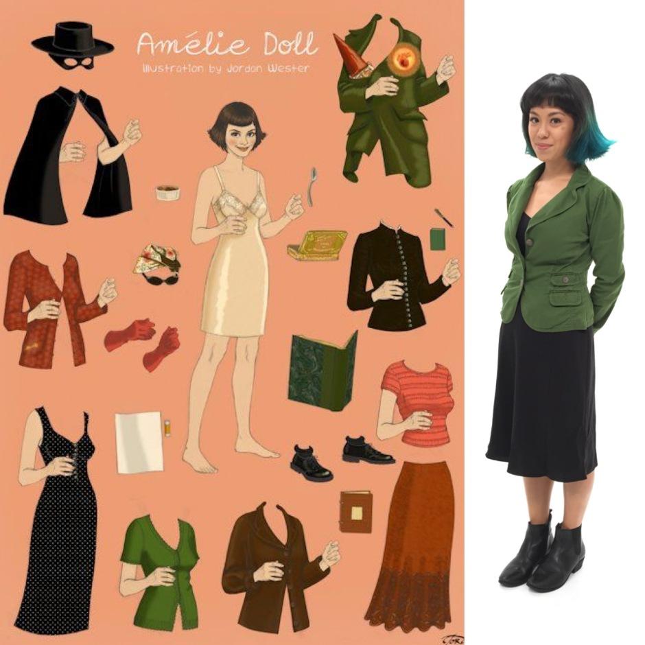 amelie costume